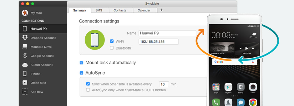Find instructions to use HiSuite for Mac alternative solution below