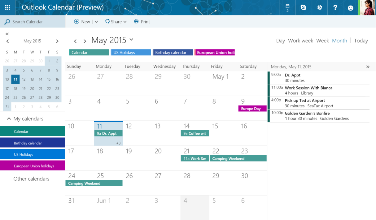Easy way to sync Outlook Calendar with Mac OS X for free