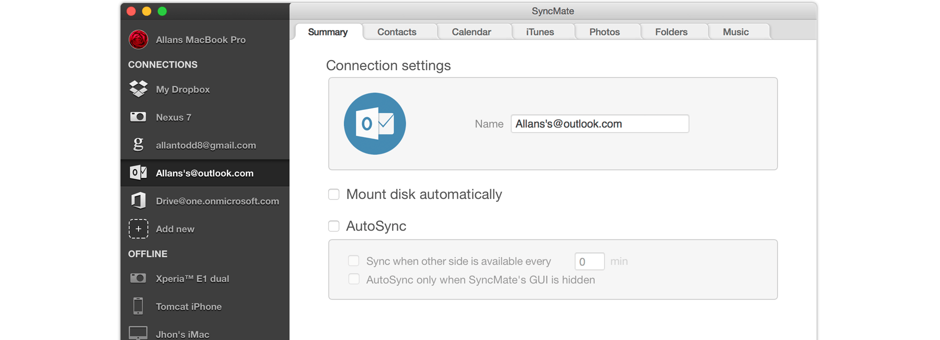 Outlook sync Mac: sync Mac and Outlook for free with SyncMate
